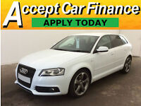 Audi A3 2.0TDI Sportback Black Edition FINANCE OFFER FROM £62 PER WEEK!