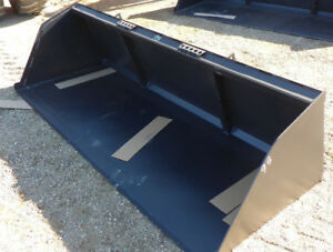 "New 96"" snow bucket attachment for Skid steer"