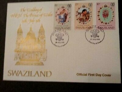 Swaziland  Royal Wedding 1981 First Day Cover