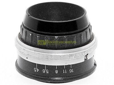 Obiettivo per ingranditore Industar 110mm. f4,5 innesto a vite M39