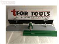 4ft Magnesium Concrete Bullfloat 3 Handles & Brush Bull Float Broom