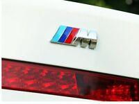 BMW M Sport M Tech Metal Boot Badge Emblem 1 3 4 5 6 7 Series X5 M3 M5 M6