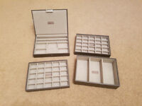 Stackers jewellery box set in mink