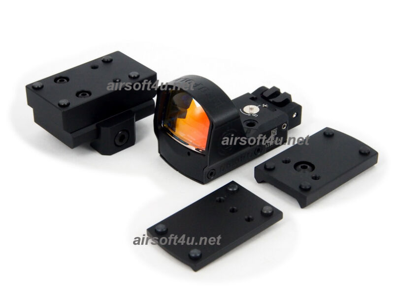 Tactical D-Point Pro Red Dot Sight Black With 1911,1913, G17,G18,G34 Mount
