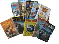 Bundle of 10 kids DVDs in great condition.