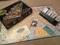 London Cabbie Game vintage board game by Intellect