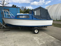 Mayland 16ft Boat with trailer