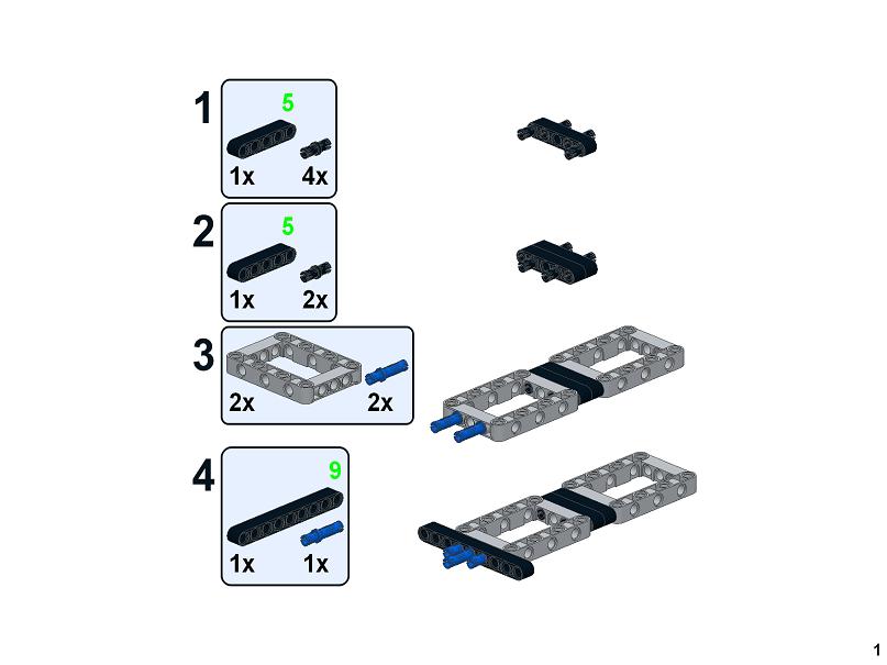 RBi Bauanleitung 42078 Lead Container Trailer Eigenbau Mack Anthem MOC aus LEGO®