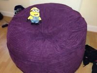 Bean Bag (Bean to Bed) (kingsize mattress folded inside) - great condition