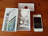 iPhone 4s 16GB white on EE/T-mobile in box