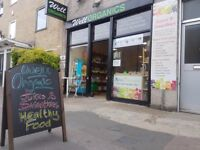 SENSATIONAL ORGANIC RETAIL SHOP IN THE HEART OF HACKNEY