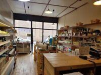 Incredible organic retail shop near Victoria Park located in Hackney