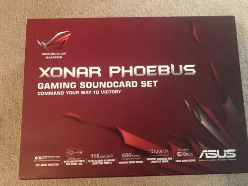 Asus ROG Xonar Phoebus 7.1 Gaming Sound Card + Control Box