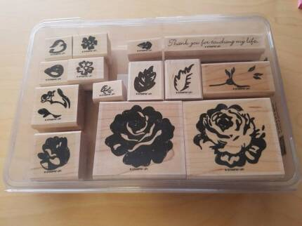 Stamps - Wooden - Scrapbooking - A Rose is a Rose
