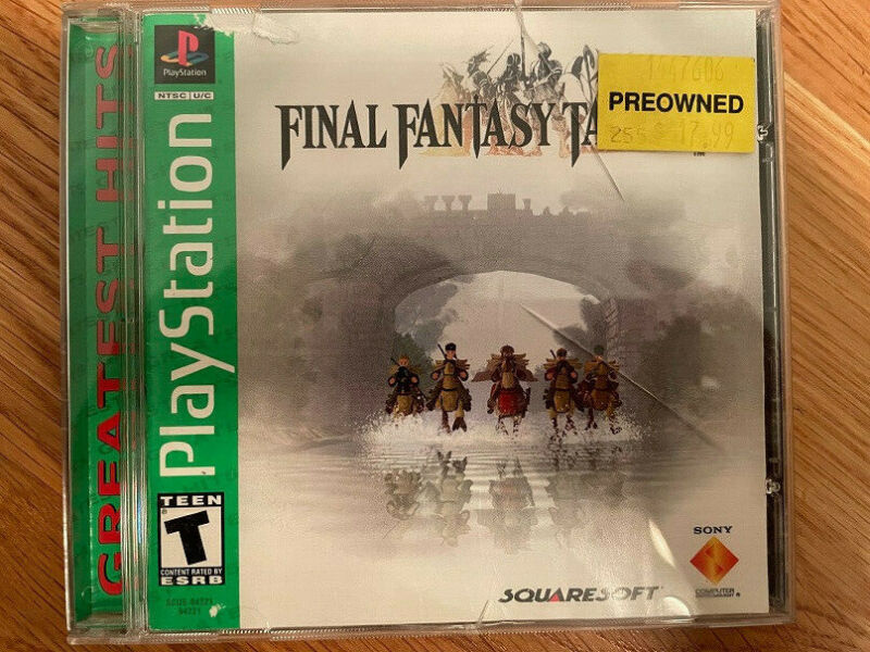 Used - Final Fantasy Tactics - Greatest Hits Edition - Tested