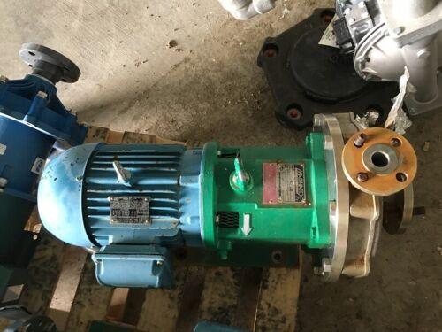 Magnatex Pump MPL52LF-V25N-180TC 316 STAINLESS STEEL CENTRIFUGAL PUMP