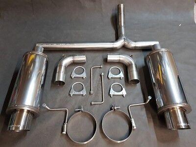 Mittelschalldämpfer Honda Civic 83-87 1.5 CRX Auspuff