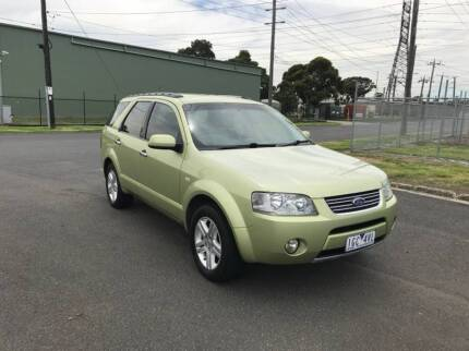 2004 FORD TERRITORY GHIA RWD 5 SEATER WAGON CHEAP FAMILY CAR Altona North Hobsons Bay Area Preview