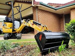 Gunthers Mini Excavator Hire from $65p/h* Calamvale Brisbane South West Preview