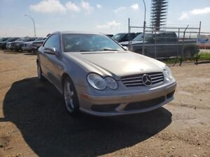 2004 Mercedes-Benz CLK-Class 5.0L V8 Leather Heated Seats LOW KM