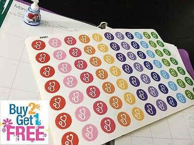 PP051 -- Doctor Appointment Life Planner Stickers for Erin Condren (77pcs)