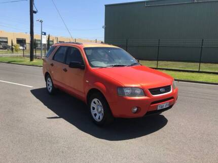 2004 FORD TERRITORY TX SX 7 SEATER WAGON CHEAP FAMILY CAR!!! South Kingsville Hobsons Bay Area Preview