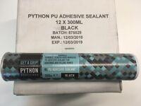 Python PU Adhesive Sealant (black)