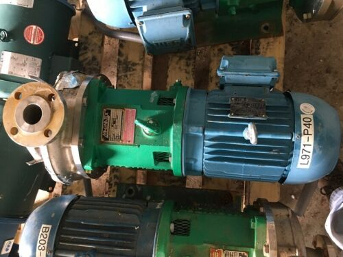 Magnatex Pump MPL84-8-V25N-180TC 316 STAINLESS STEEL CENTRIFUGAL PUMP