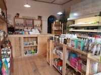LOVELY ORGANIC RETAIL SHOP LOCATED IN THE HEART OF HACKNEY