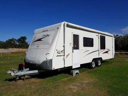 2008 Jayco Sterling Caravan 25ft With Slideout Bedroom & Lounge Coolum Beach Noosa Area Preview