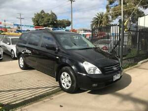 2008 KIA GRAND CARNIVAL EX 8 SEATER PEOPLE MOVER LOW KMS Altona North Hobsons Bay Area Preview