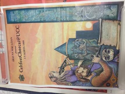 Irish Festival Poster