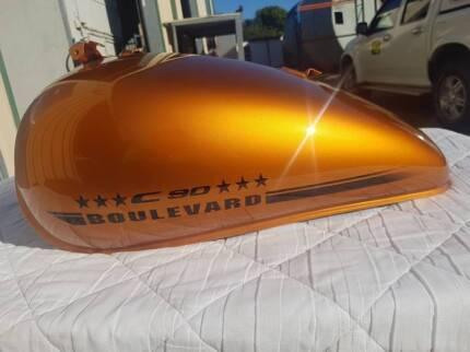 Suzuki Boulevarde C90 - Bronze Fuel Tank Gateshead Lake Macquarie Area Preview