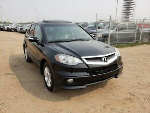 2007 Acura RDX 2.3L Turbo AWD Leather Sunroof Heated Seats!