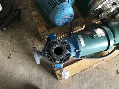 Finish Thompson Polypropylene Magnetic Drive Pump Db22f-e10-m213 W5hp Motor