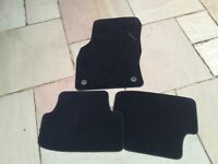 Set of 3 VW Golf MK 7 carpet mats - unused