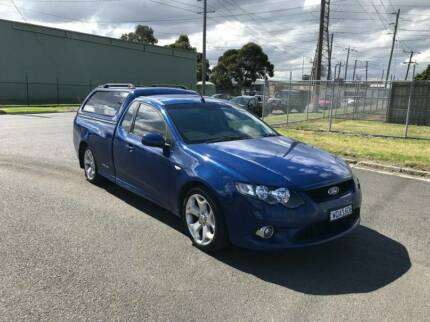 2008 FORD FALCON FG XR6 UTE LPG AUTO GREAT UTE Altona North Hobsons Bay Area Preview