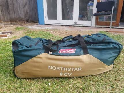 Coleman Northstar 8 cv tent & coleman northstar | Gumtree Australia Free Local Classifieds