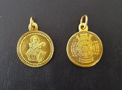 Shri Sri Saraswati Yantra Pendant Locket Yantra Amulet For Education Learning
