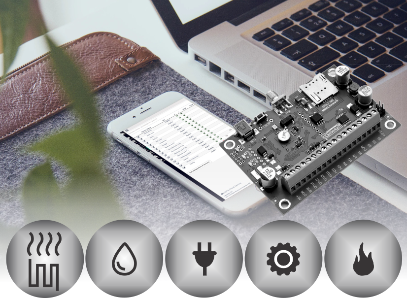 *New* Smart home automation Control devices via mobile web a