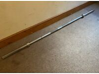 """Brand-New 7ft 2"""" Olympic 20KG Weightlifting Barbell 400kg rated weight 2 New clips included."""