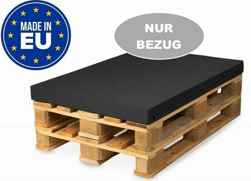 BEZUG 120x60cm (OHNE SCHAUMSTOFF/Füllungen) für Palettenkissen Palettenpolster
