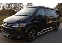 Motorhome Volkswagen Transporter 2.0 litre 4 Berth 6 Speed Tailgate LWB