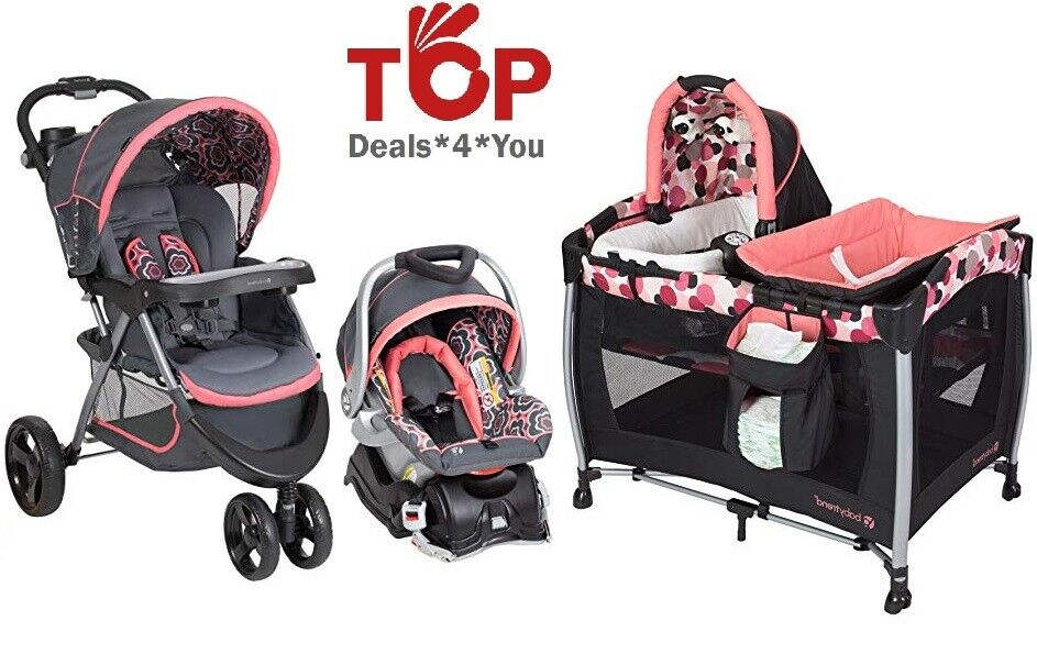 Baby Trend Resort Elite Foldable Nursery Center Stroller Car