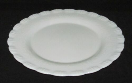 MacBeth Evans Glass Co. CHINEX CLASSIC Ivory Dinner Plate