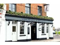 Christmas Bar & floor staff required throughout december