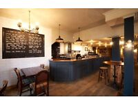 Part Time Bar & Floor staff for busy Pub/ restaurant in Blackheath Evenings & Weekends