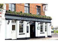 Chefs required for gastro pub in Blackheath SE3- all levels