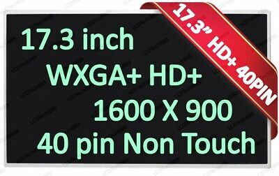 New 17.3 WXGA+ Glossy LED Screen For HP 641395-001 584037-001 641629-001 LCD segunda mano  Embacar hacia Argentina