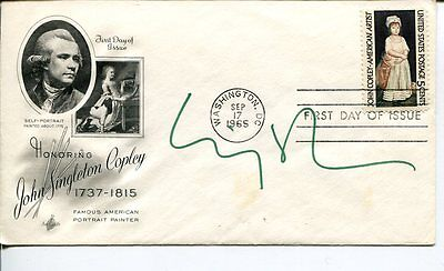 Cindy Sherman Famous Photographer Film Director Signed Autograph FDC